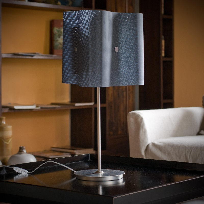 Moonlight Gray Table Lamp