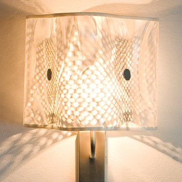 Moonlight White Sconce
