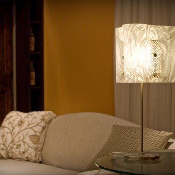 Moonlight White Table Lamp