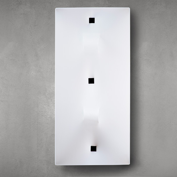 ViaLatteaWhite-rectangle-wall-light-large