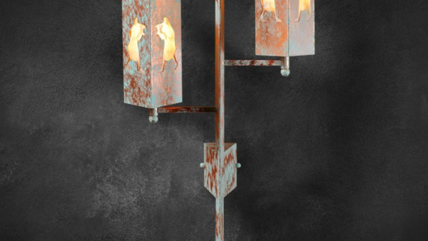 pandia-flute-copper-ON-sconce