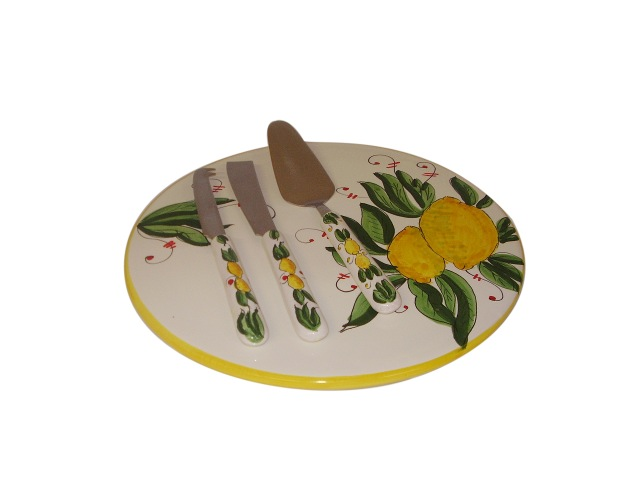 Cake -Cheese Set Lm961 cir plate 30cm