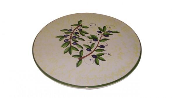 Cake-Cheese plate cir 30cm  OL1007