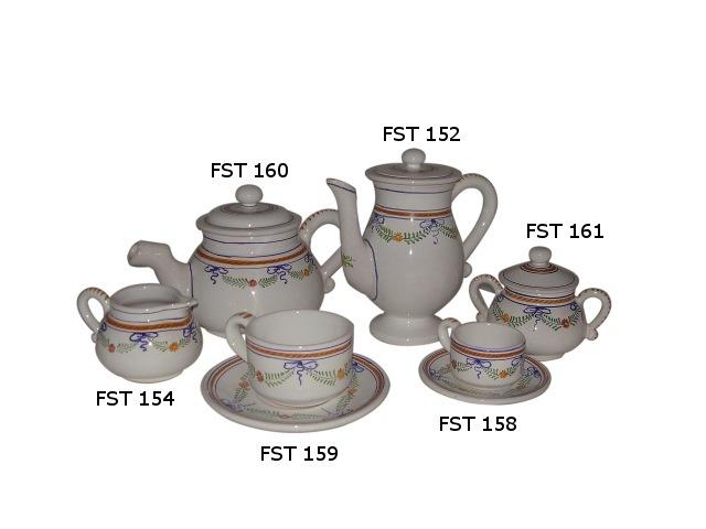 Tea set fst Delicacy