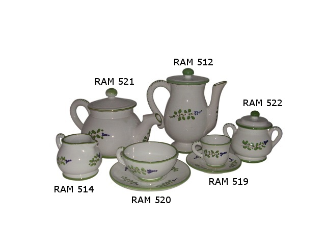 Tea set ramOlive Branch