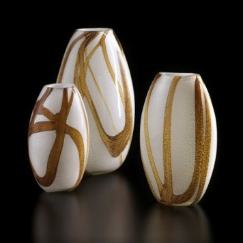Woodhue Vase Curved