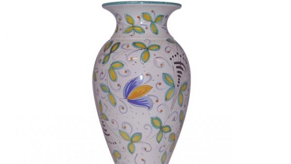 vaso fiori fgl 972  h 30cm.